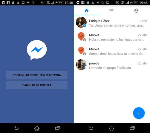 Install Facebook Messenger Lite on Android.