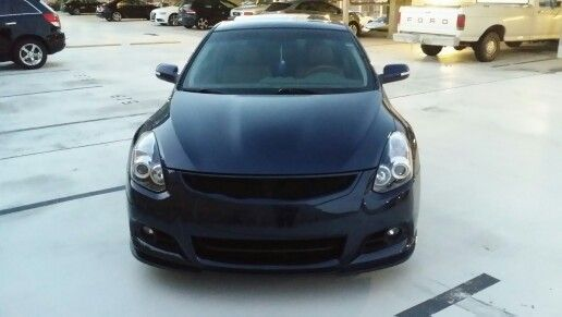 C-mod grille and Stillen front lip (color coded and painted