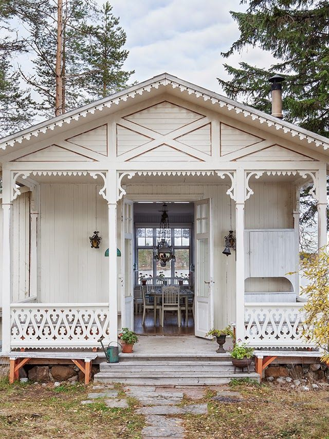 Ulla-Britts hem på Svartön, tidningen Drömhem & Trädgård 10/2014 | Made In Persbo
