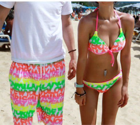 Matching swimsuits. Cute! | Bikini Season! | Pinterest ...