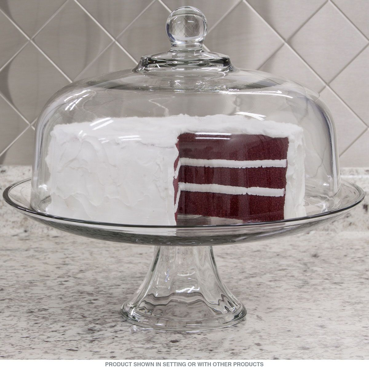 Domed 2-In-1 Punch Bowl Cake Stand_D & Domed 2-In-1 Punch Bowl Cake Stand_D | Punch bowl cake Bowl cake ...