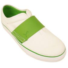 Puma El Rey Trainers for Womens White Green Trainer Casual Retro Shoes d954f2bf1d