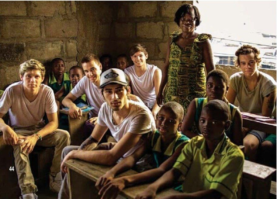 Am I the only one that still cries when they see pictures of the boys in Ghana?? No? Just me? Ok...