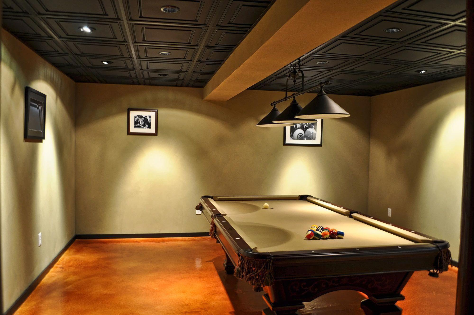 Black Stratford Tiles For A Basement Remodelingideasdiy Ceiling Tiles Basement Basement Ceiling Decorative Ceiling Tile