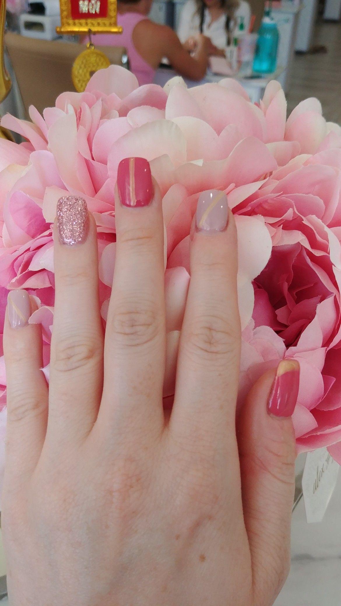Summer 2018 Nails Nailart Dnd 606 And 038 Summer2018 Peony Pazzaz Presents