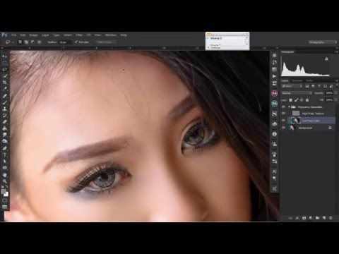 'Stella Kirana' Speed Art Retouch | Photoshop CC - YouTube