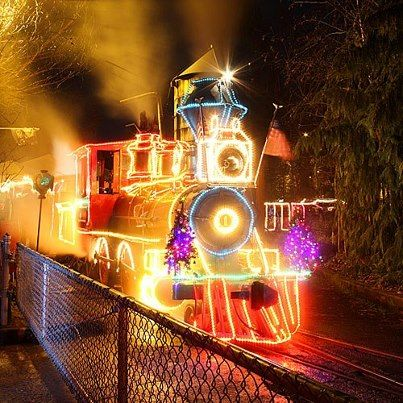 Christmas Train Christmas is Coming Pinterest Christmas train