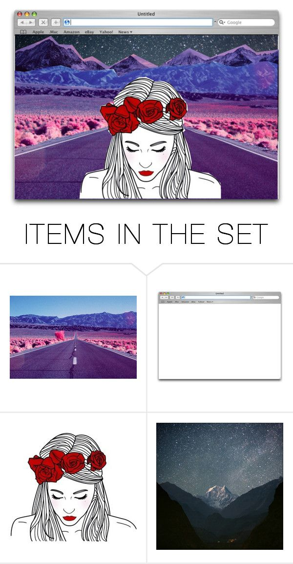 """If you don't know where you're going, any road will get you there."" by artemishunters ❤ liked on Polyvore featuring art"