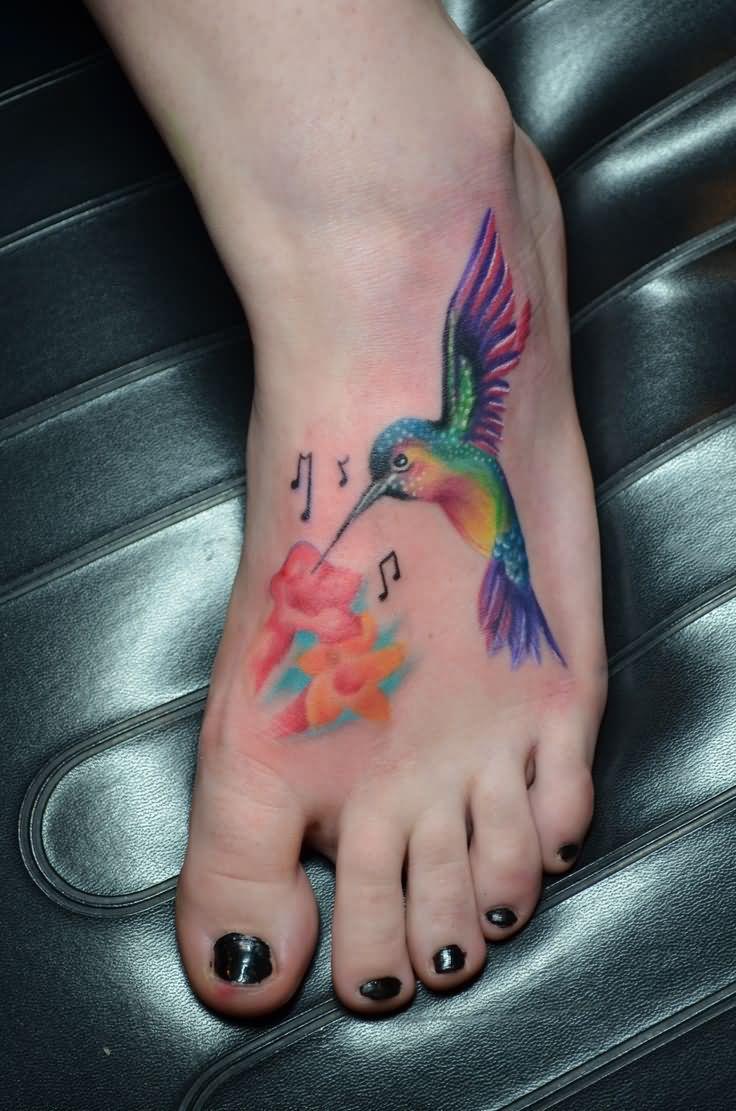 Hummingbird tattoo designs as a reminder to pursue dreams