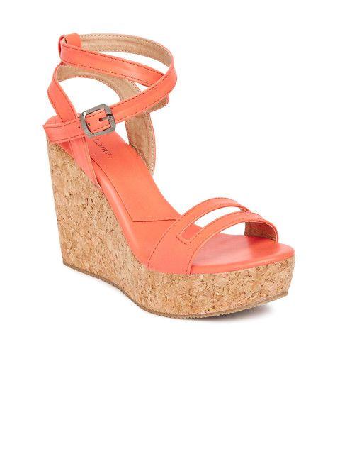 d1567788a Buy Marc Loire Women Pink Solid Wedges - Heels for Women