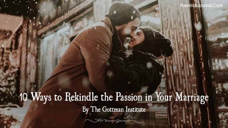 Rekindle passion in marriage