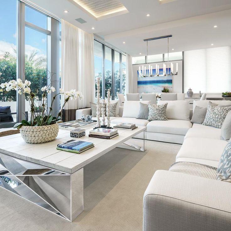 Frische Aufnahmen aus der New Miami #Entwicklung | Wohnzimmer ...