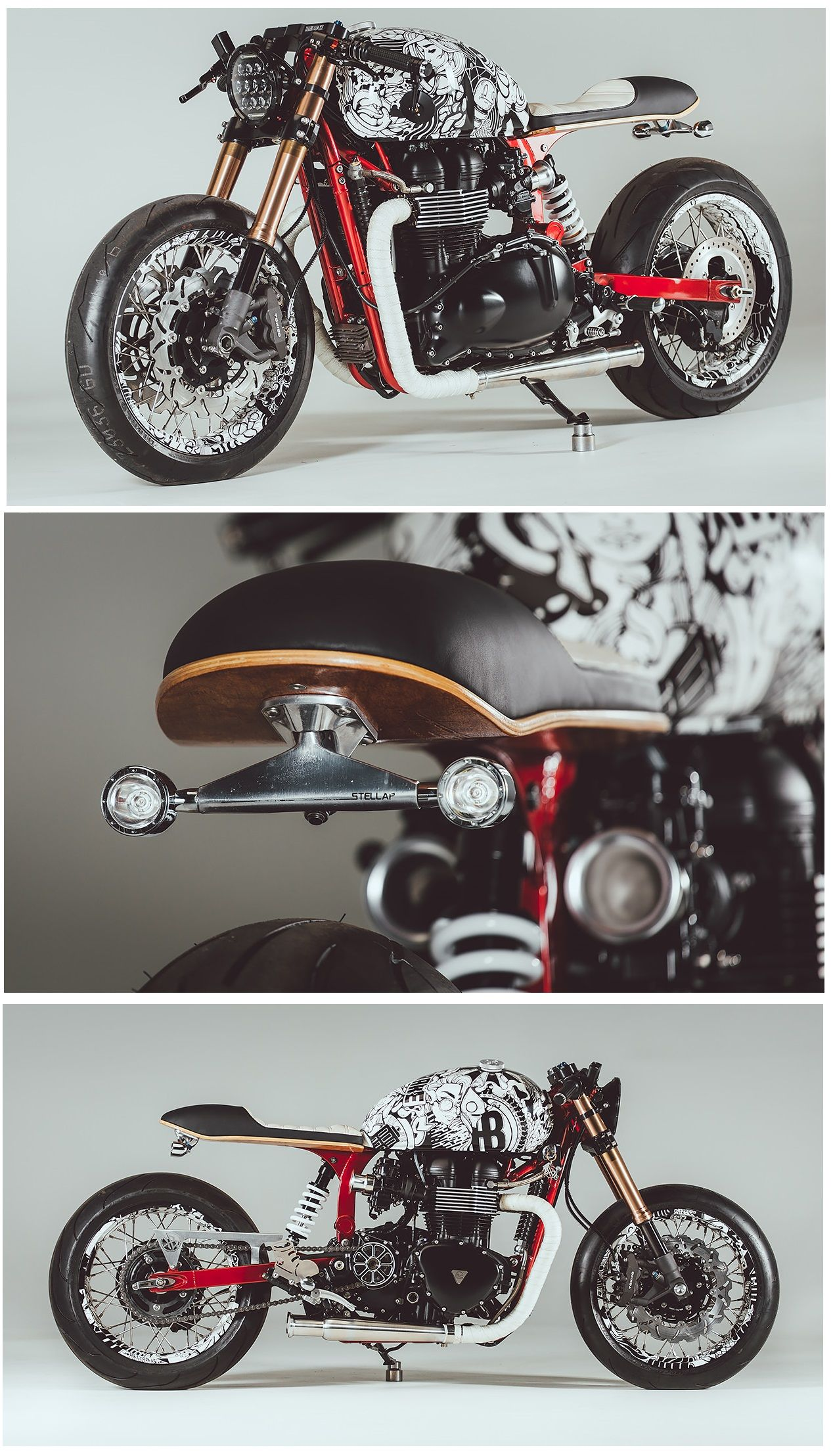 A Stunning Triumph Thruxton Cafe Racer Built By Rogue Motorcycles
