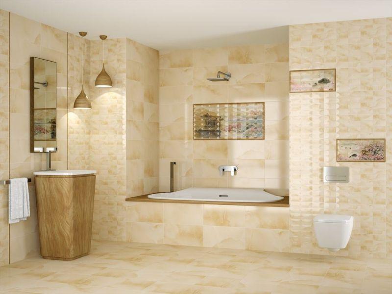 salle de bain travertin salle