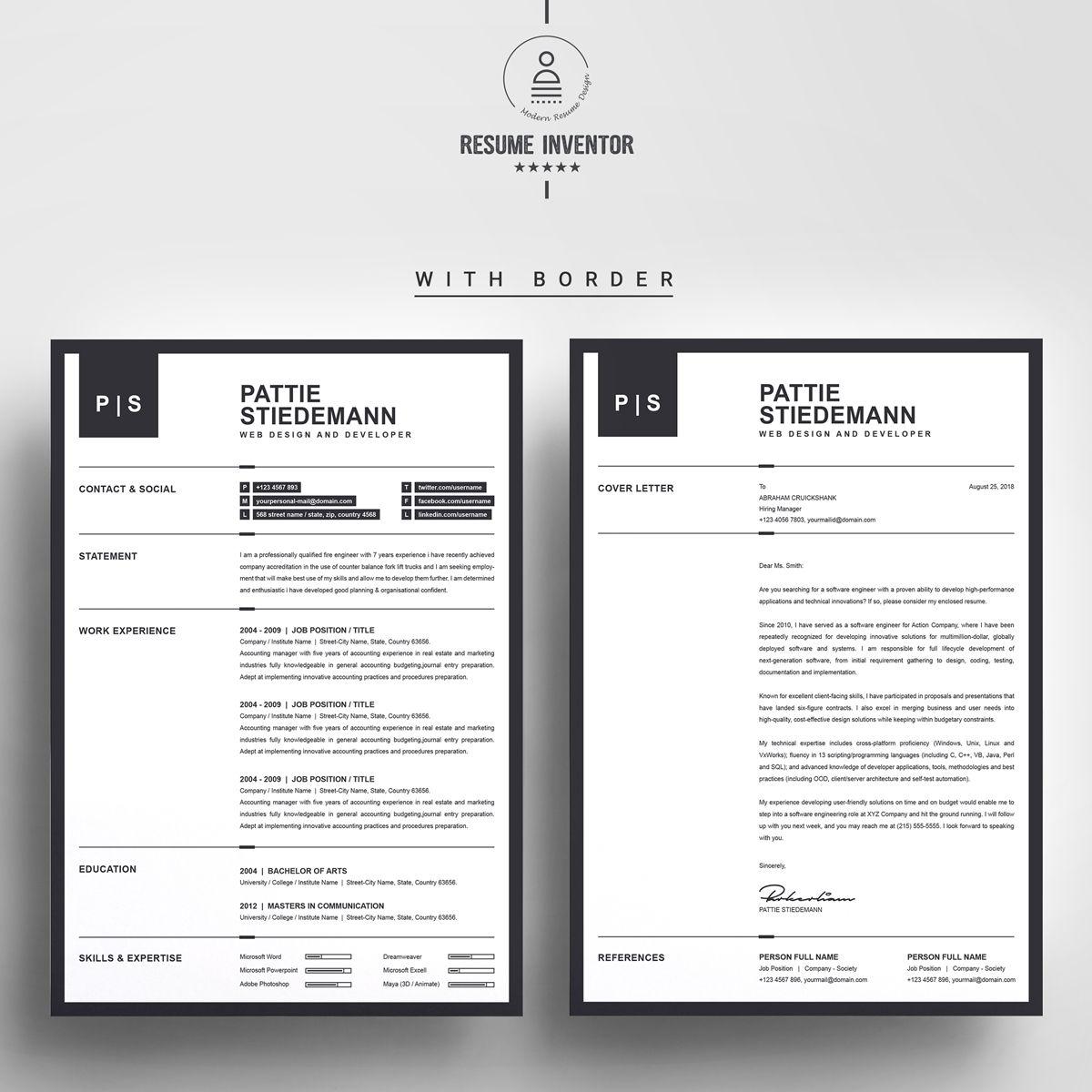 Pattie Stiedeman Resume Template 76936 Resume template