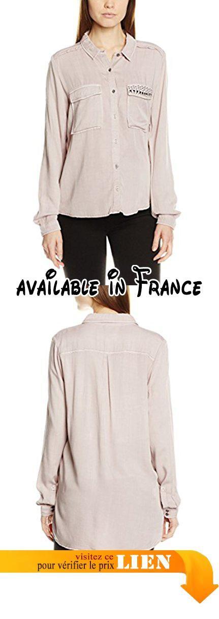 X Femme Blouse Rosaviolet B01n90avotGarcia 60031 1860S Blush srChtQd