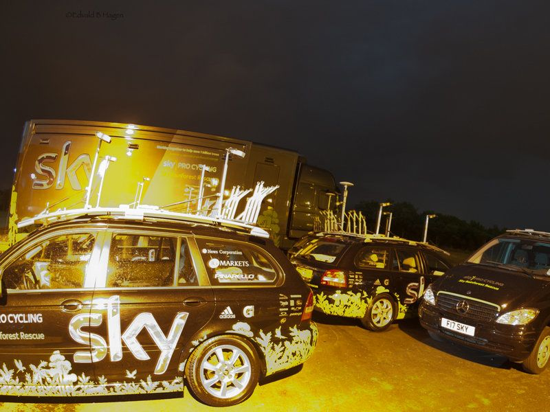 Team Sky | Pro Cycling | Photo Gallery | Edvald's Tour gallery part 2