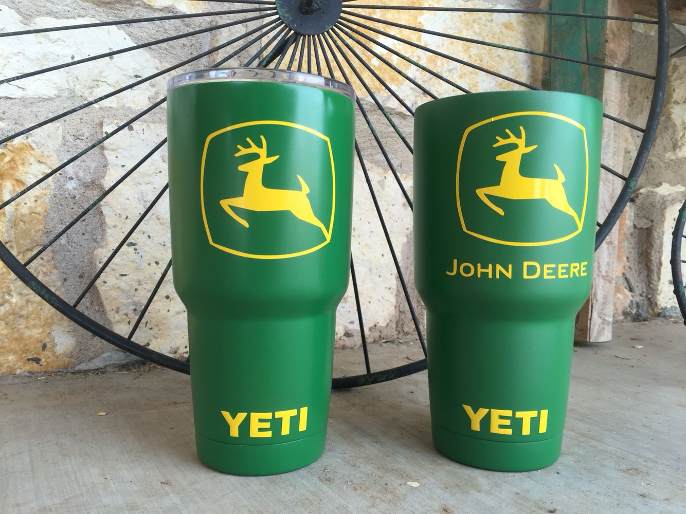 Customized Yeti Ramblers by Guns Up Hydrographics | vinyl