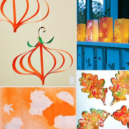 20 Fun Fall Arts And Crafts For Kids Negative Space Art With A Leaf And A Spray Bottle Filled With Water Color