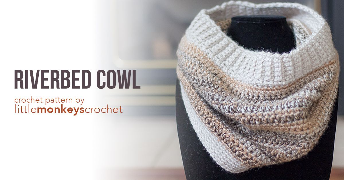 Riverbed Cowl | Crochet Projects - scarves, cowls & scoodies ...