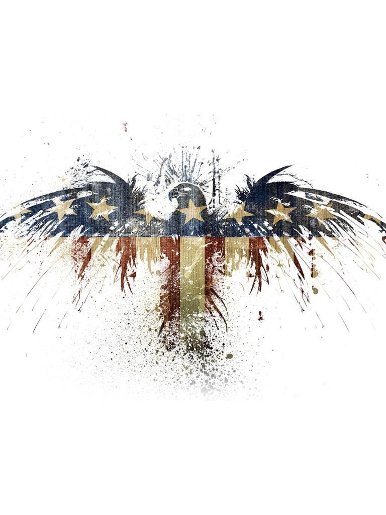 Red White And Blue Eagle Patriotic Pinterest Tattoos