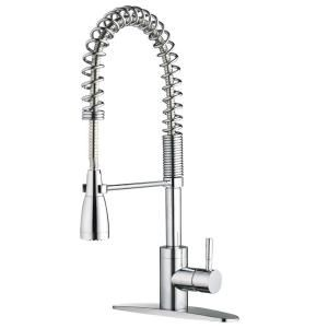 commercial kitchen faucet americana island 359 pre rinse in chrome fp4a5026cp at the home depot 20 31 spout reach