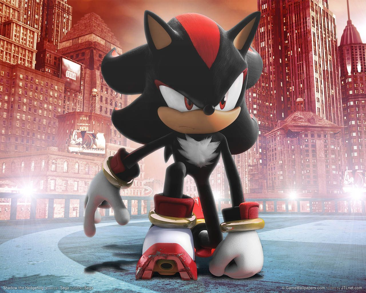 Decorate Your Background With Gaming Wallpaper Shadow The Hedgehog Sonic Sonic Adventure
