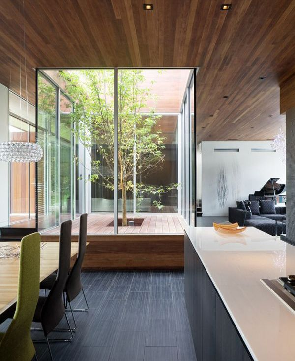 20 beautiful indoor courtyard gardens home design and interior