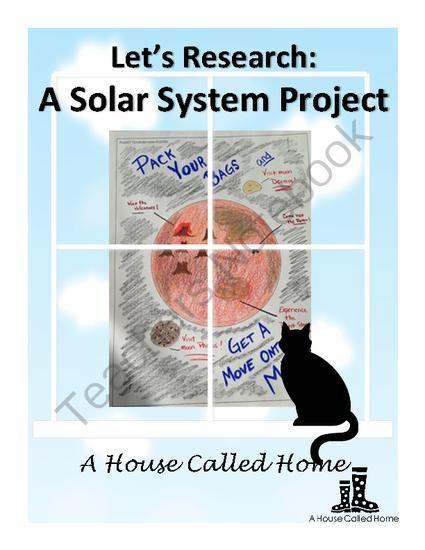 Solar System Unit Plan Middle School - 1000 ideas about ...