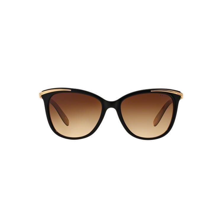 853a002781 Ralph by Ralph Lauren Women s RA5203 1090T5 54 Cateye Brown Sunglasses