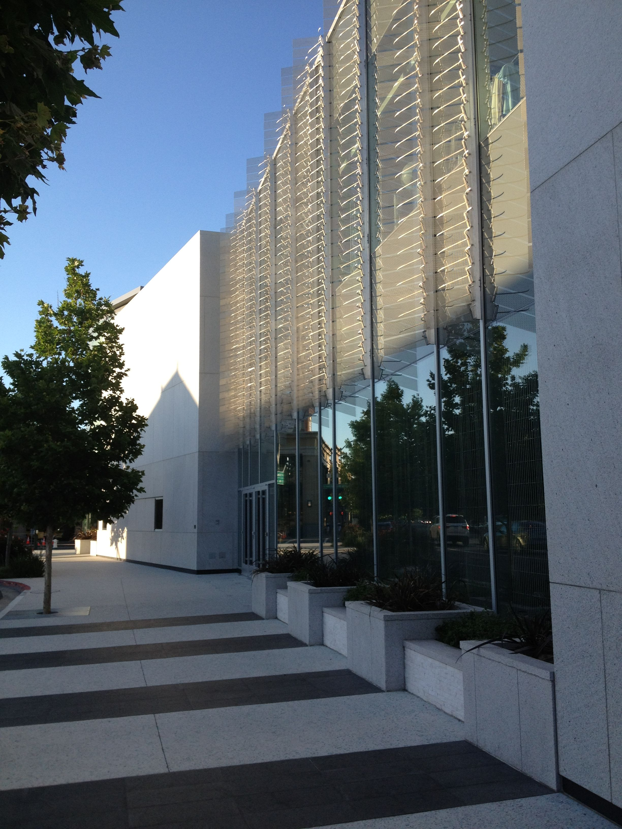 Neiman Marcus, Walnut Creek, CA. Bay Area artist Ned Kahn
