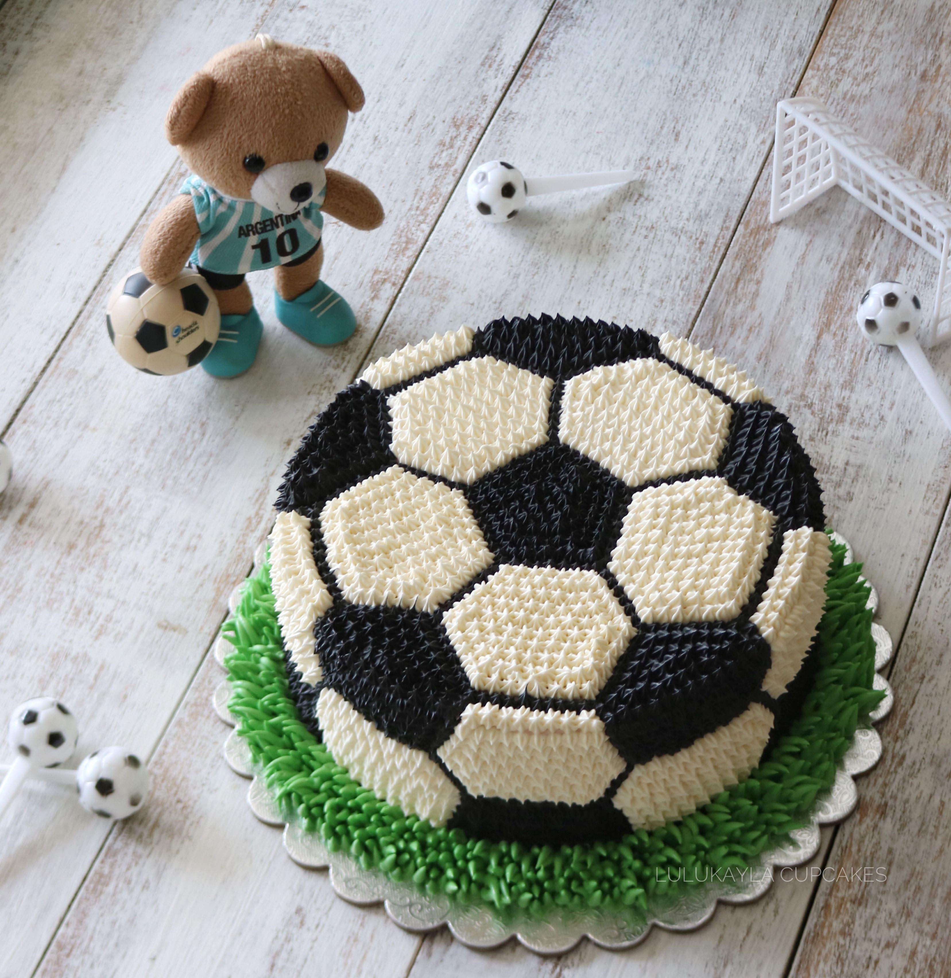 Soccerball Birthdaycake Tortas Deportivas Tortas De Cumpleanos De Futbol Pasteles De Cumpleanos De Futbol