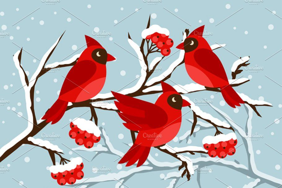 Photo of Cards with birds red cardinal. , #spon, #greeting#holidays#Happy#cards #affiliat…