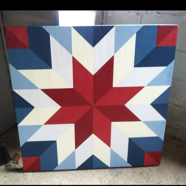 Barn Quilt You Can Order In Any Size Color And Pattern