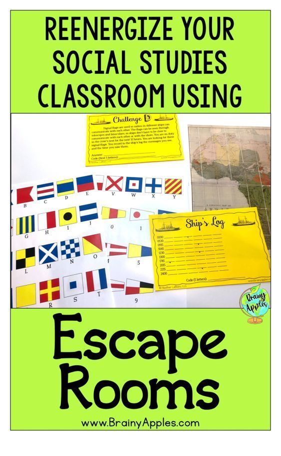 Photo of Using Social Studies Escape Rooms – Brainy Apples