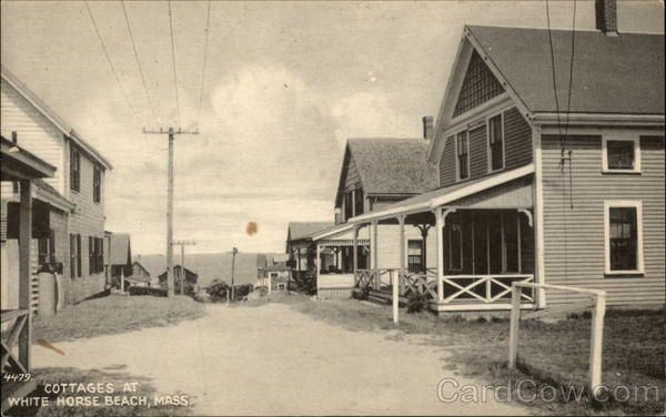 White Horse Beach Ma Cottages At The