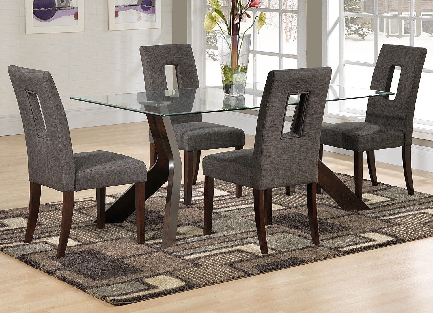 Nolan casual dining 5 pc dinette leons glass furniture nolan casual dining 5 pc dinette leons workwithnaturefo