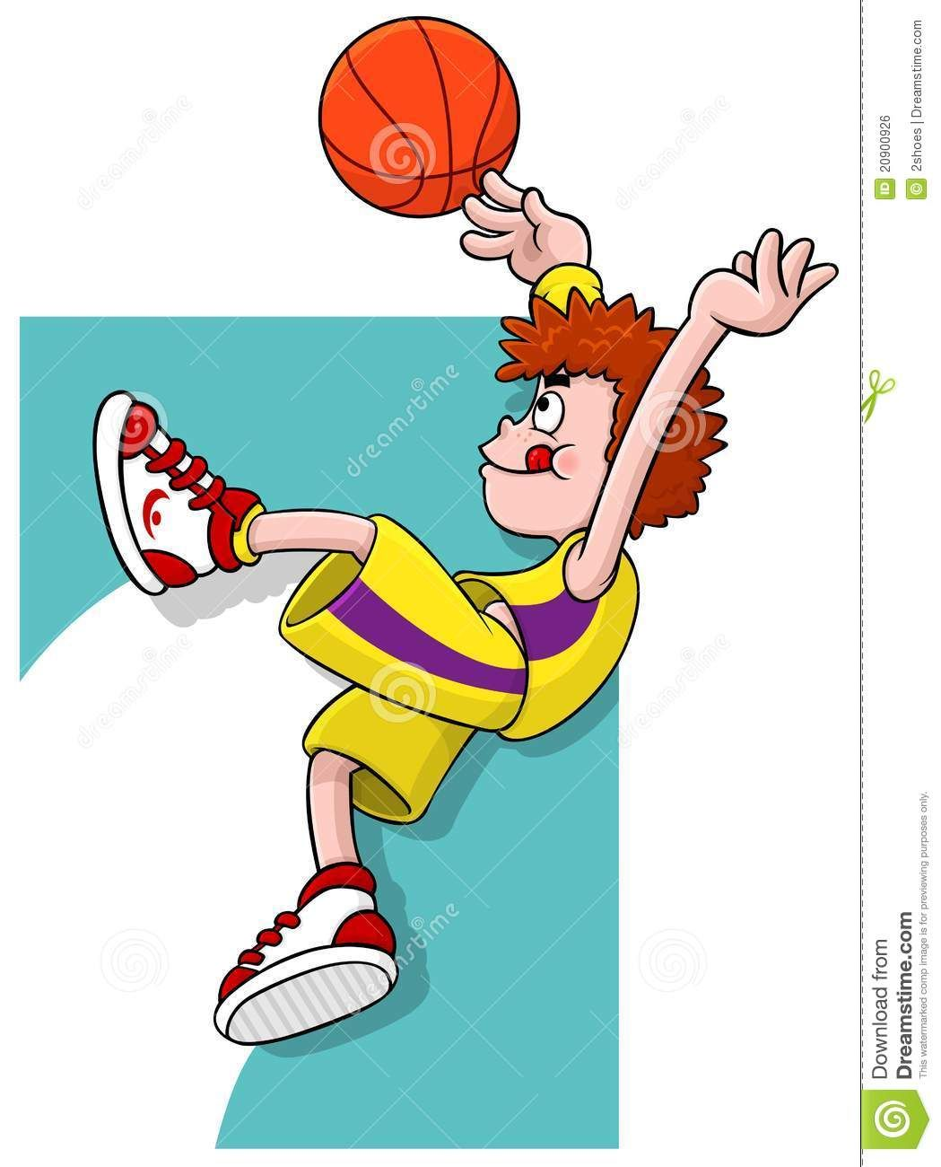 Cartoon Basketball Player Basketball Players Cartoon Players