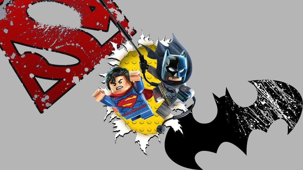 Lego Superman Batman Wallpaper Lego Pinterest Batman Superman