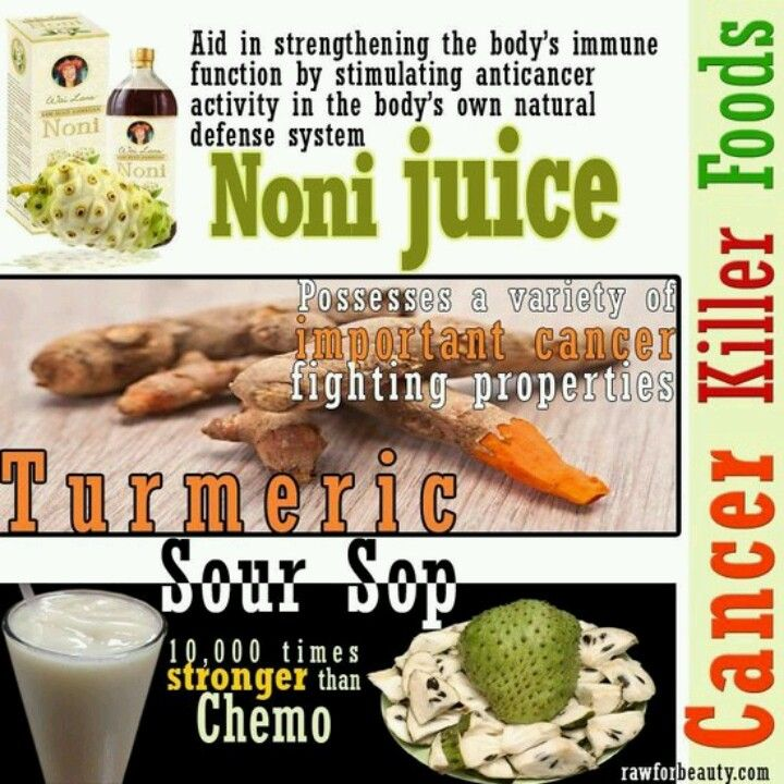Noni juice, turmeric and sour sop | Supplements and Nutrition