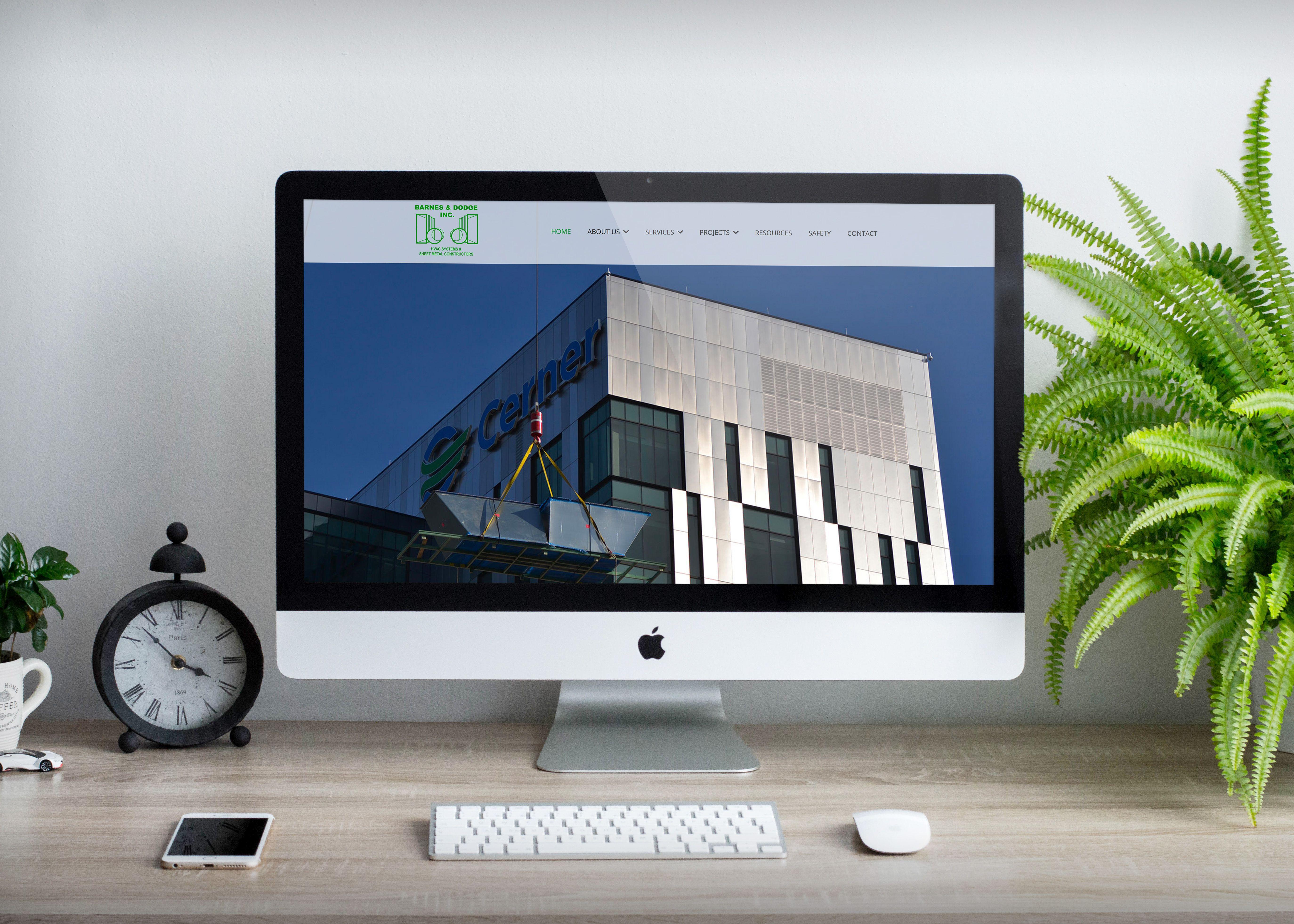 Website design and development website design company