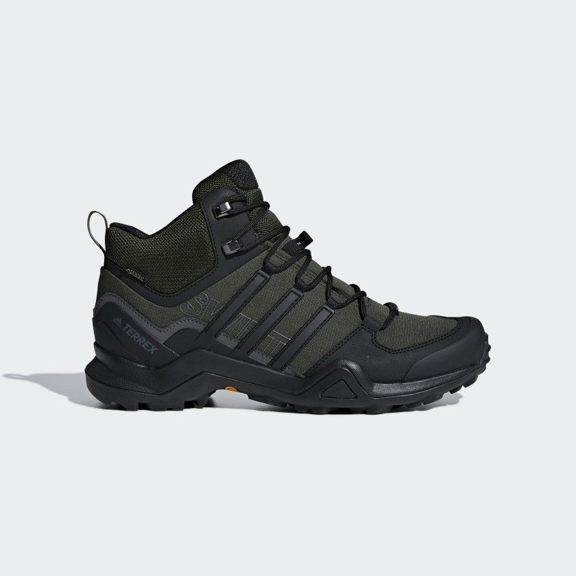 Terrex Swift R2 Mid GTX Shoes Night Cargo / Core Black ...
