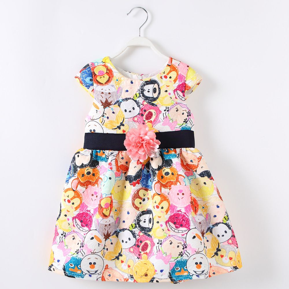 New leisure childrenus clothing princess dress sell like hot cakes