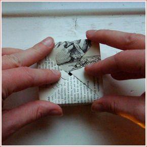 Tutorial...  DIY Origami Ornaments Box por Samantha Miller - Casa - Creature Comforts - inspiração diária, estilo, diy projetos + brindes