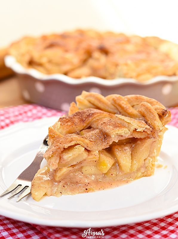 El Mejor Pie De Manzana Anna S Pasteleria Receta Pie De Manzana Receta Pie De Manzana Recetas De Pie