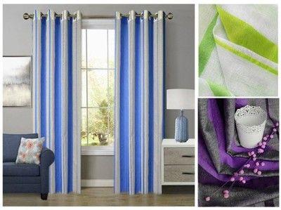 Gotowe Zaslony W Pasy 140x260 Matowe Przelotki 6561570948 Oficjalne Archiwum Allegro Home Decor Decor Curtains