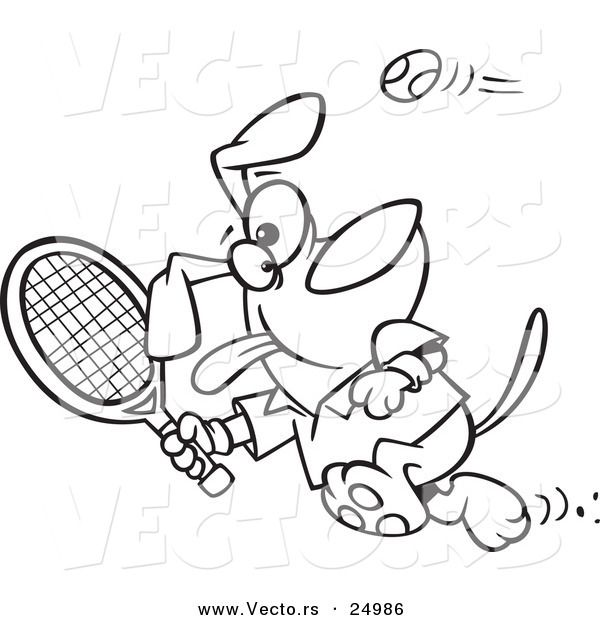 Tennis Racket Coloring Page | eco club | Pinterest