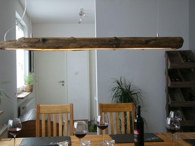 Wohnzimmer Lampe ~ Hängelampe treibholz hängeleuchte holz inkl. leds von peka ideen