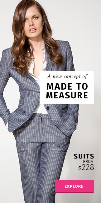 Women's made-to-measure clothing