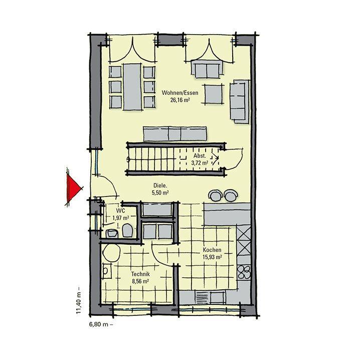 Einfamilienhaus mit 130 qm Wohnfläche für 137.590 EUR